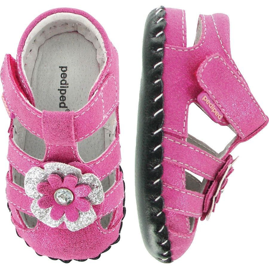 Zapatos rosas Pediped infantiles Zt7b3eWiL