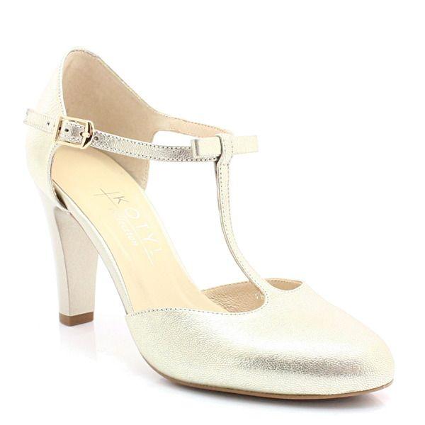 Kotyl 5871 Zloty Buty Damskie Doskonale Do Tanca Skora Naturalna Buty Damskie Czolenka Pora Roku Damskie Wiosna Pora Roku D Heels Wedding Shoe Shoes