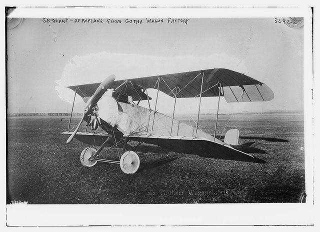 German -- aeroplane from Gotha Wagon factory (LOC) |