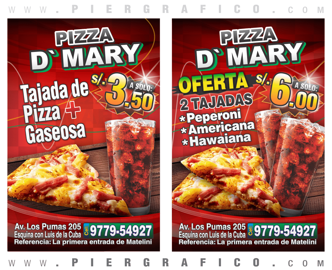 PIZZA D'MARY