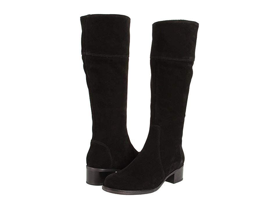 La Canadienne Passion (Black Suede) Women s Waterproof Boots. This classic  high shaft riding 31bd6422c5