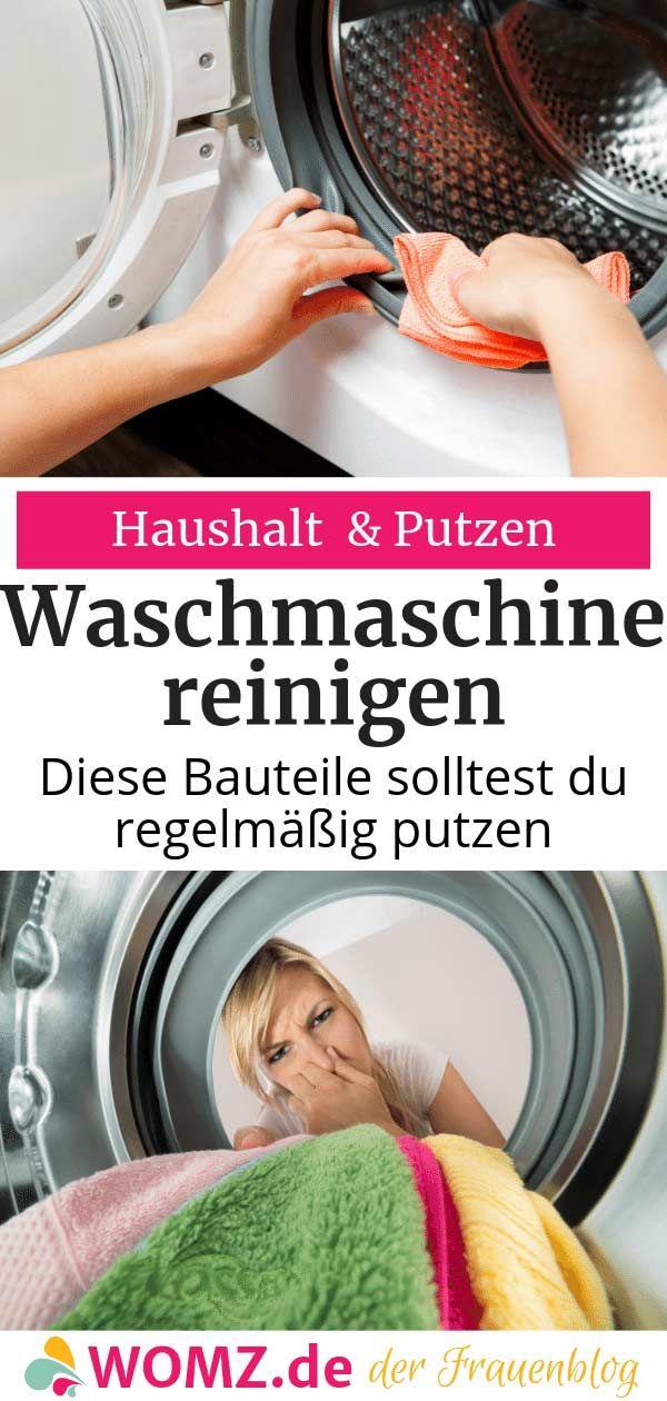 Waschmaschine Reinigen Diese Bauteile Solltest Du Putzen Womz