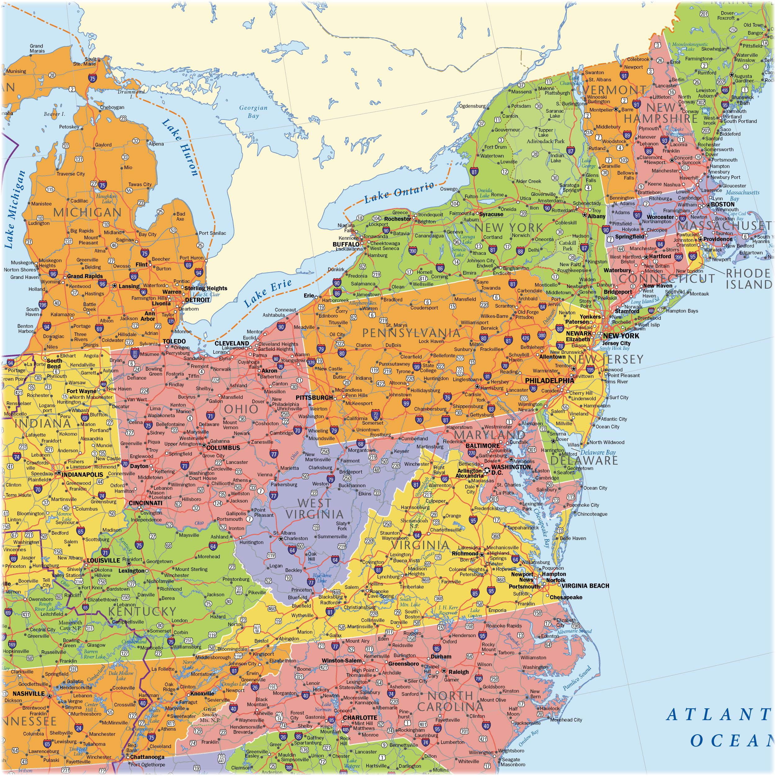 Usa Region Eastcoast Previewdetail