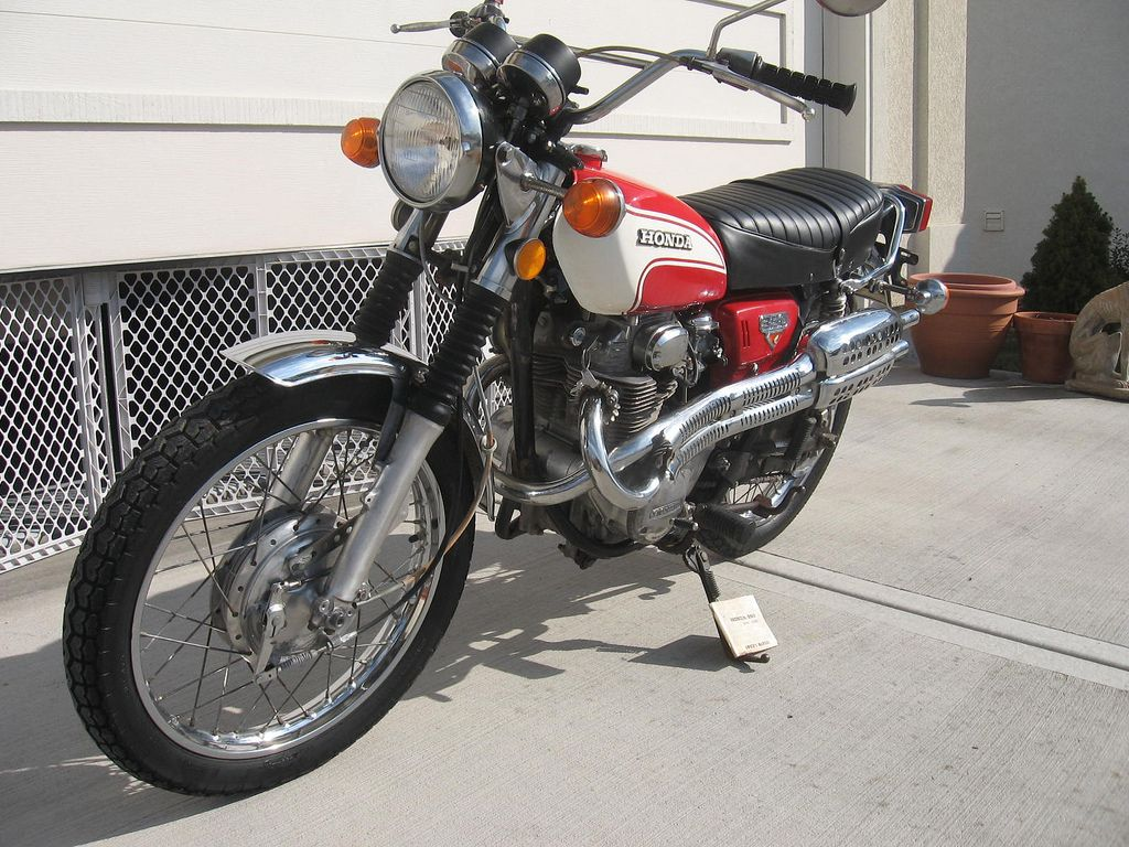 CL350 purchased from Craigslist | Cl350, Scooter ...