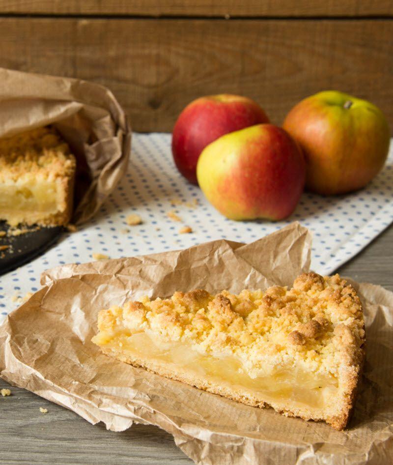 Apfel-Streusel-Kuchen aus der Springform Rezept Obstkuchen - leichte k che einfache rezepte