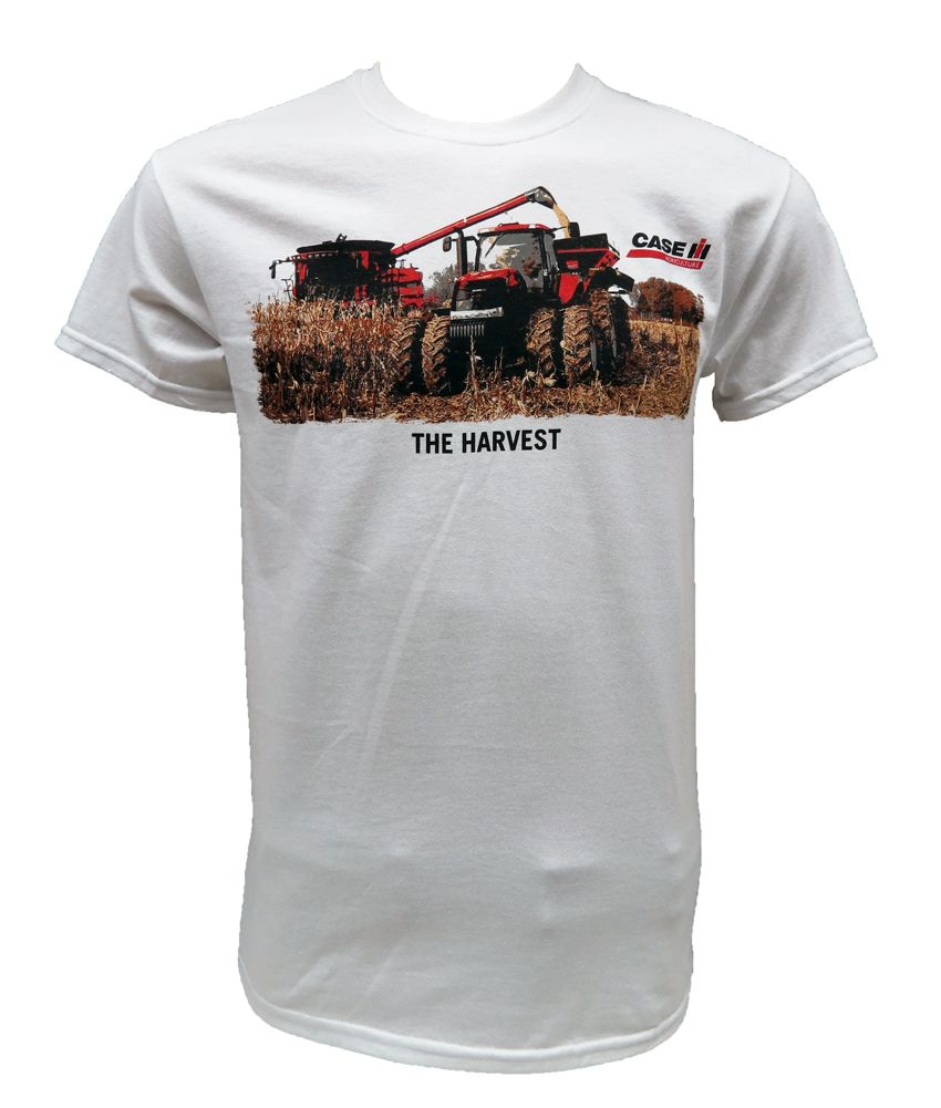 available super quality get new Case IH `The Harvest` White Tee Shirt in 2019 - Pinterest