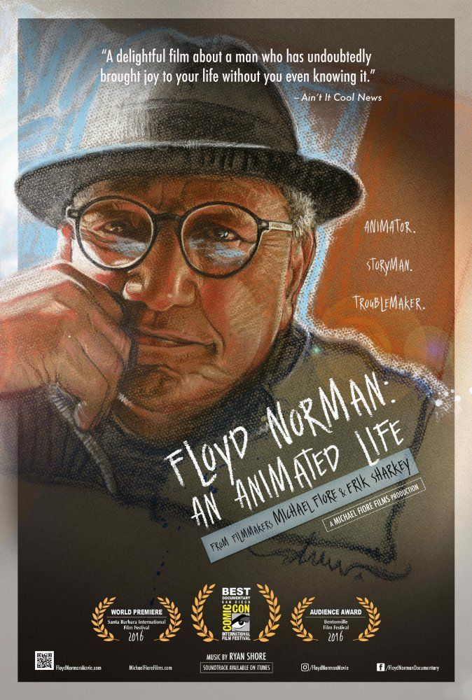 Pin By Monica Brown On Film In 2016 Floyd Norman Life Poster Documentaries