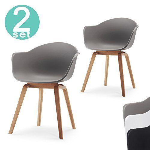 Pamp; Kunststoff Esszimmer Homewares® Moda Wanne N Stuhl Retro Stühle WeEDH29IY