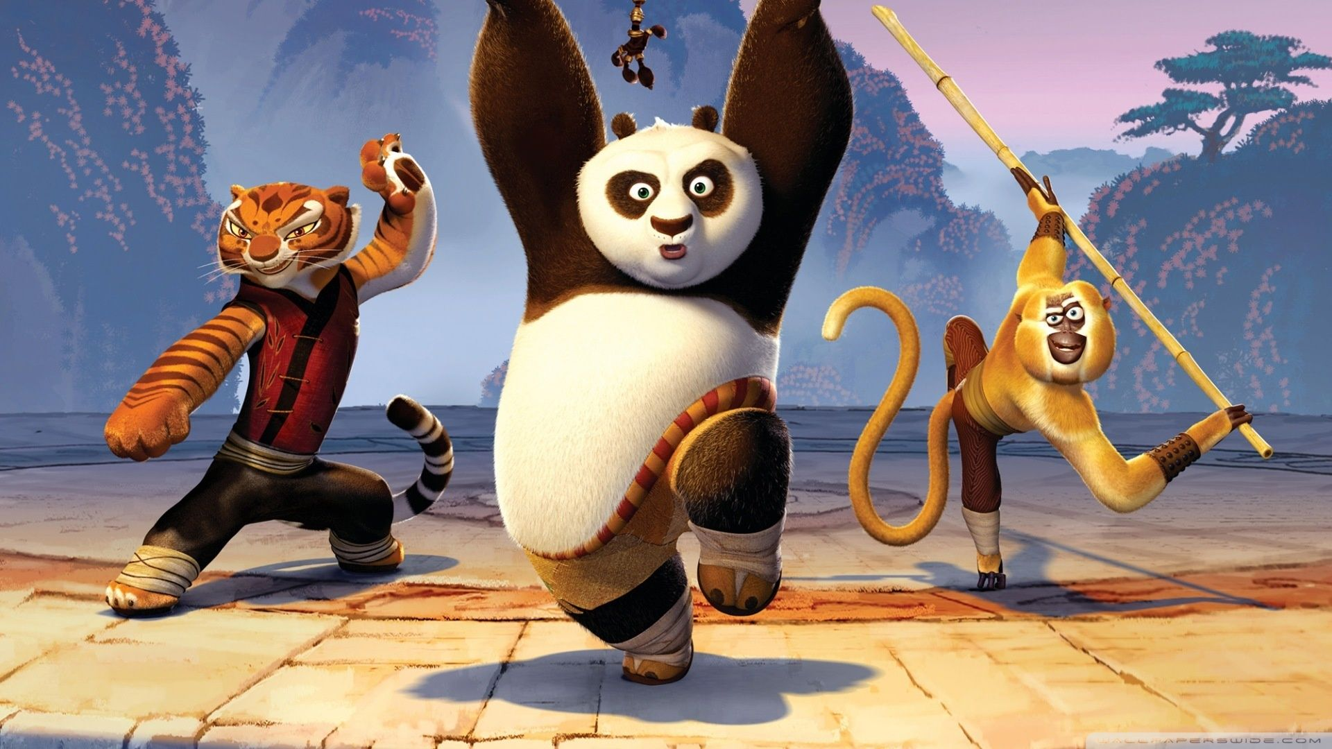Find out kung fu panda 2 movie wallpaper on http
