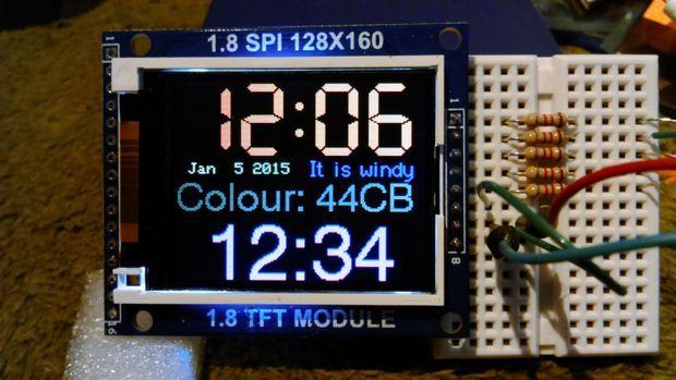 Arduino TFT Display and Font Library   Arduino   Ардуино и Хобби