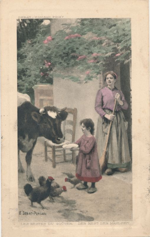 Веб-Портал Музеев - Postkaart. Taluõu. 1913.