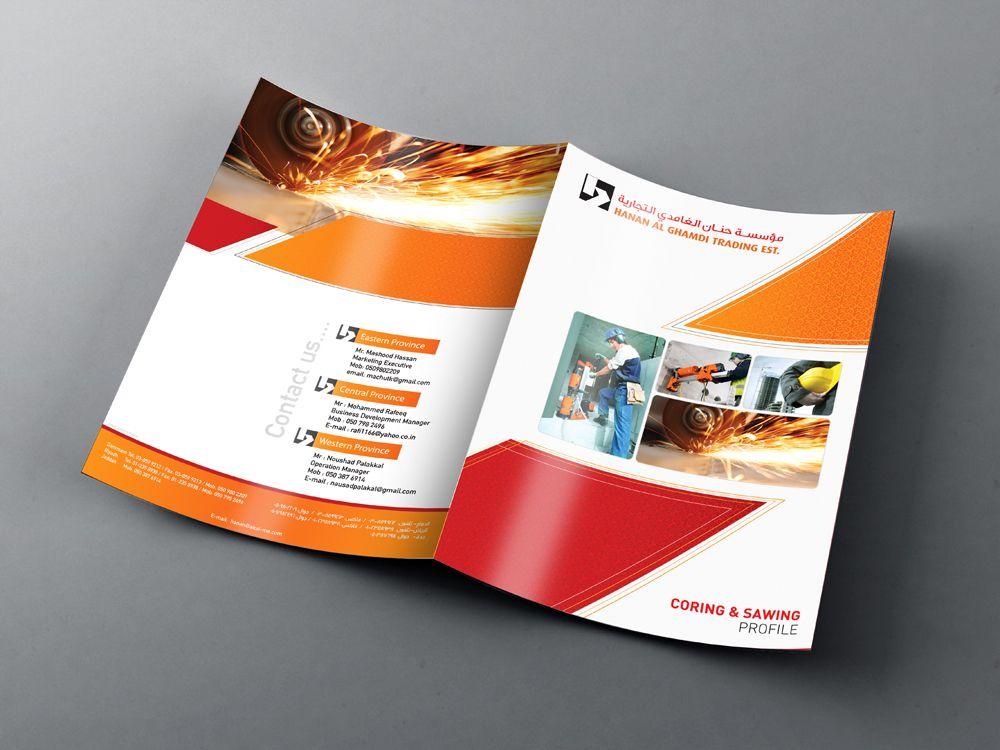 Business Template In 2020 Company Profile Design Company Profile Business Template
