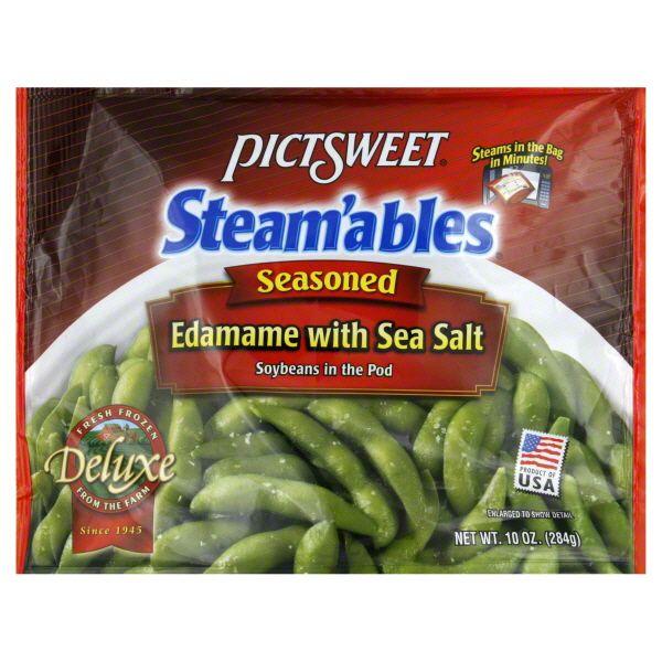 Pictsweet Edamame Seasoned With Sea Salt Healthy Foods Ideas