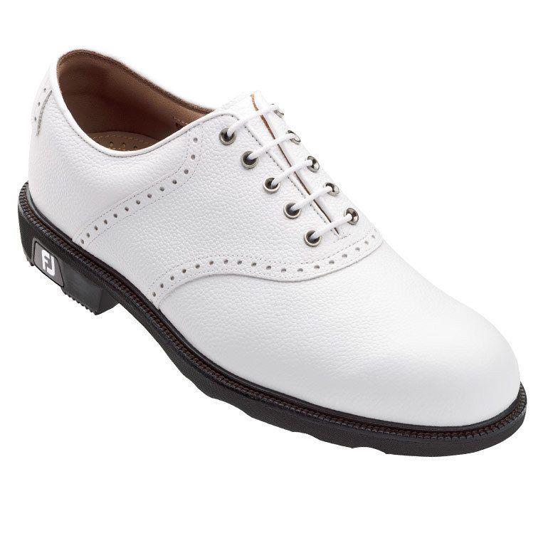 NEW Footjoy Men's Icon 52005 Golf Shoes -White Pebble Closeout!  #FootJoy