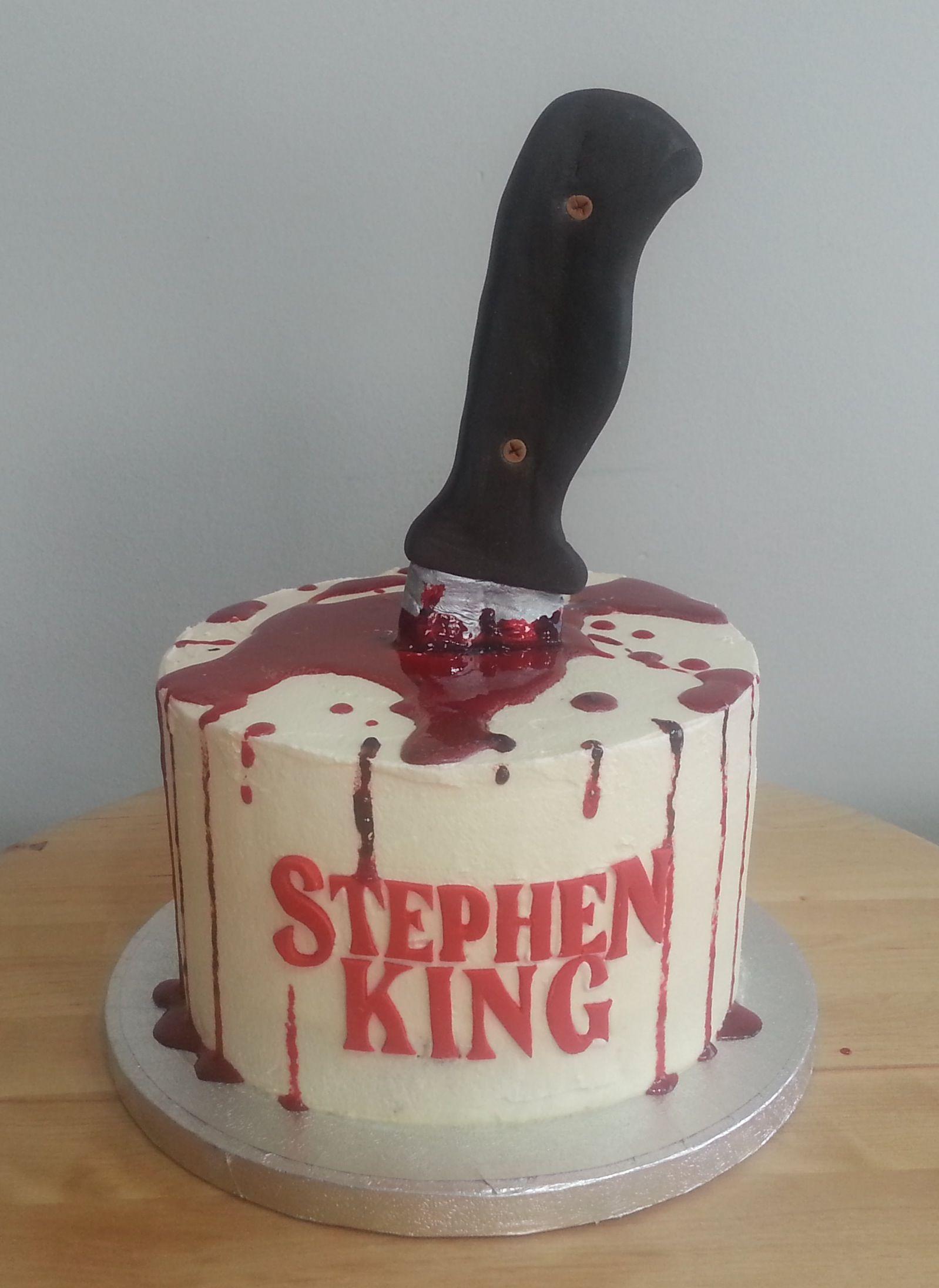 Stephen King Cake stephen king world Pinterest