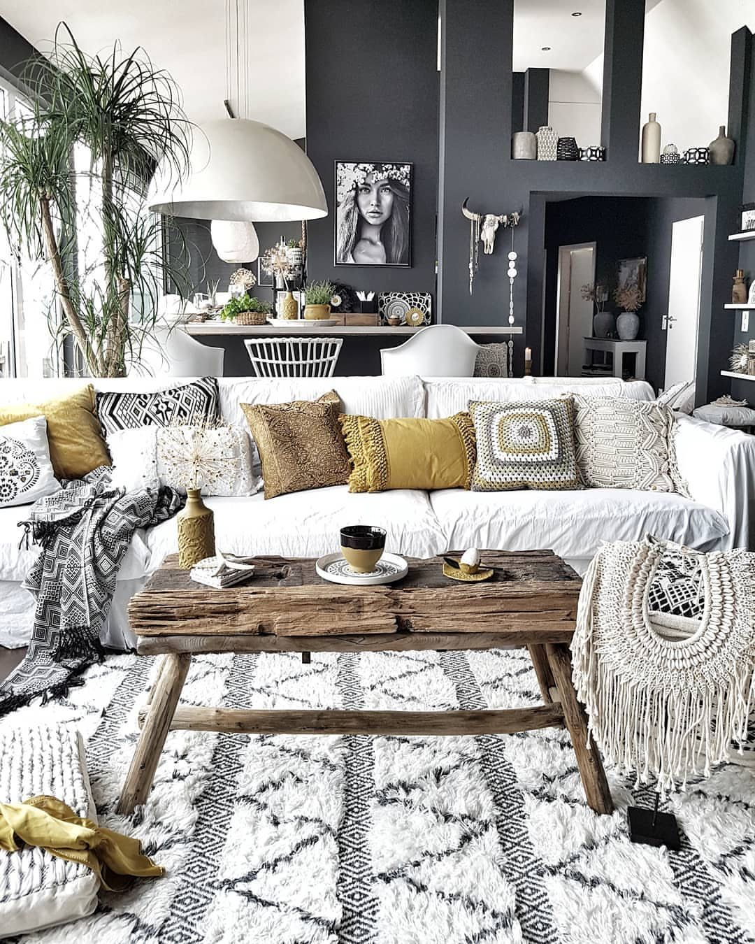 20 Ideas To Inviting Modern Theme With Modern Chic Decor Boho