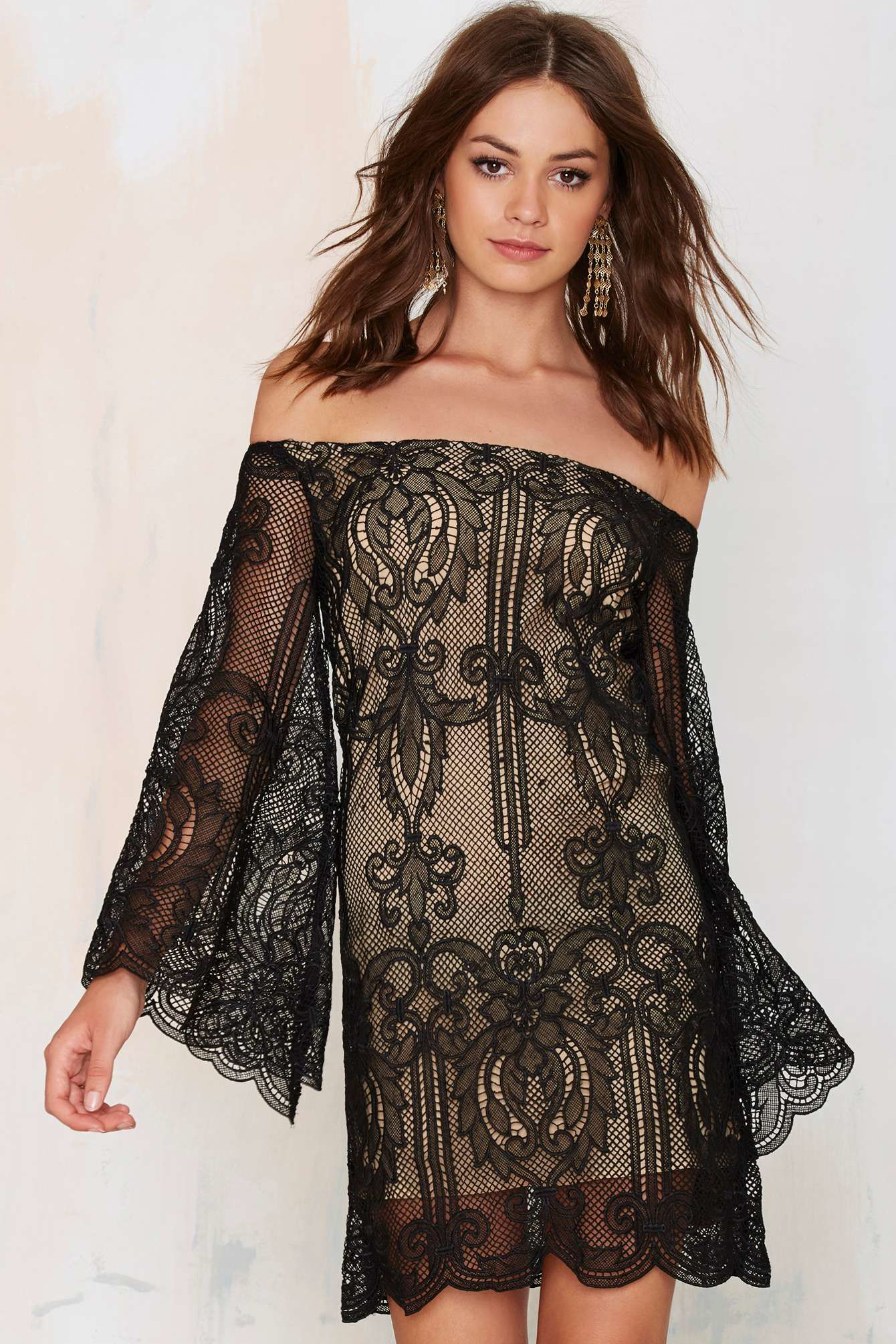 Nasty gal lattice lace dress beautiful dresses pinterest lace