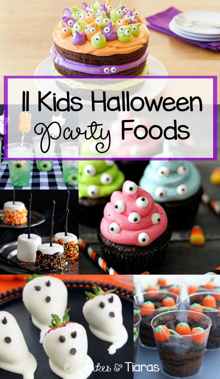 11 KIDS HALLOWEEN PARTY FOODS ... cakes, drinks and snacks that ...