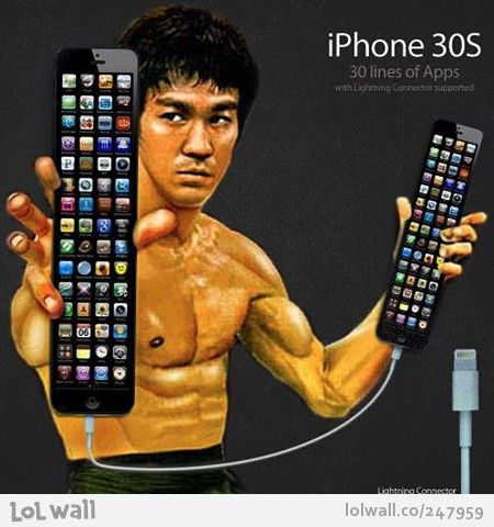 iPhone 30S - 30 lines of Apps with Lightning Connector supported