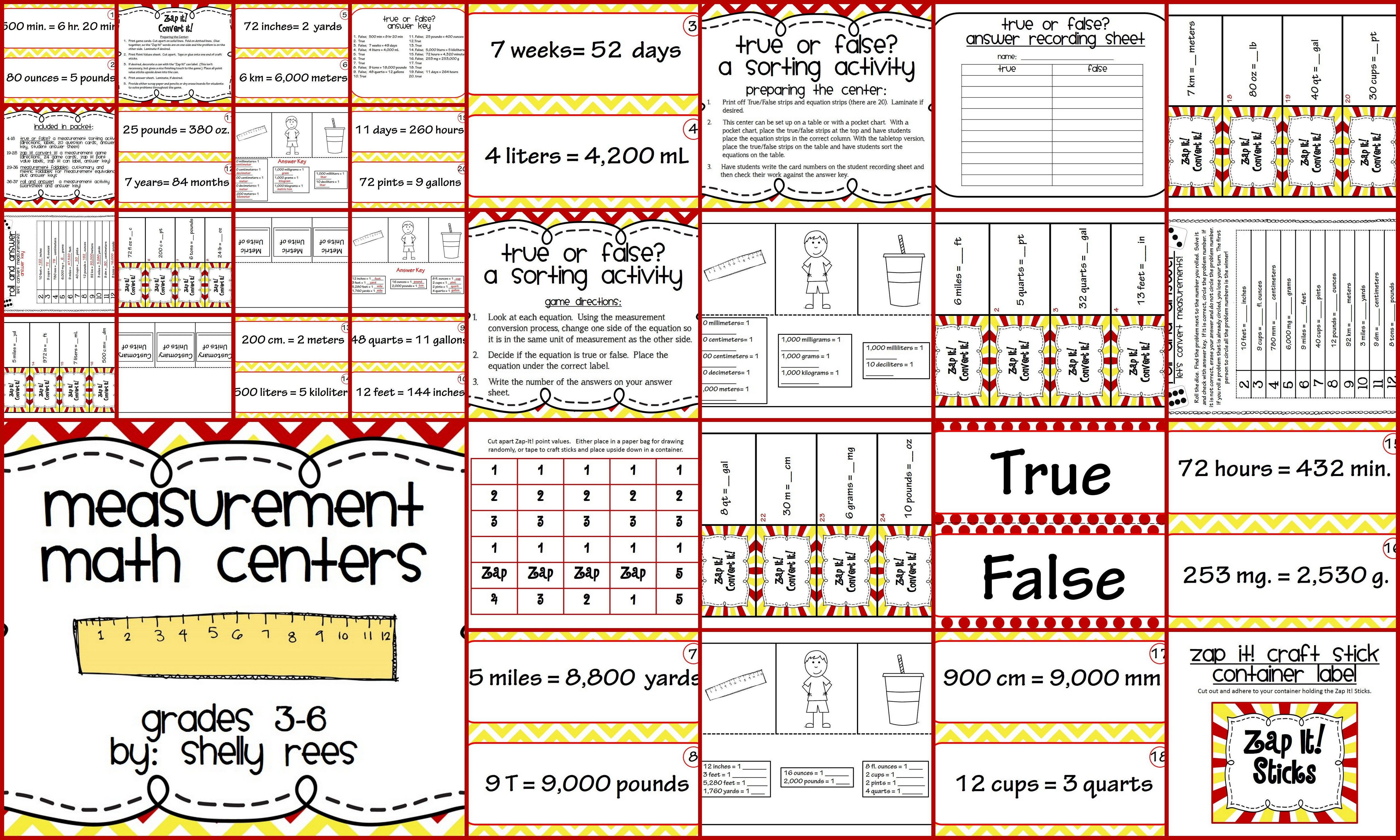 Measurement Activities And Centers