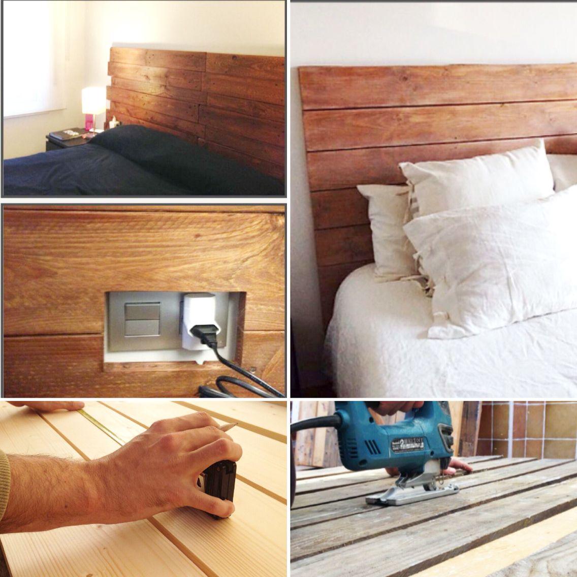 Esta semana en IBID trabajamos en un nuevo encargo: cabecero de cama en madera reciclada // Aquesta setmana preparem un nou capçal de llit 100% fusta reciclada 100% eco 100% preciós!! ☺️ #IBID #cabecero