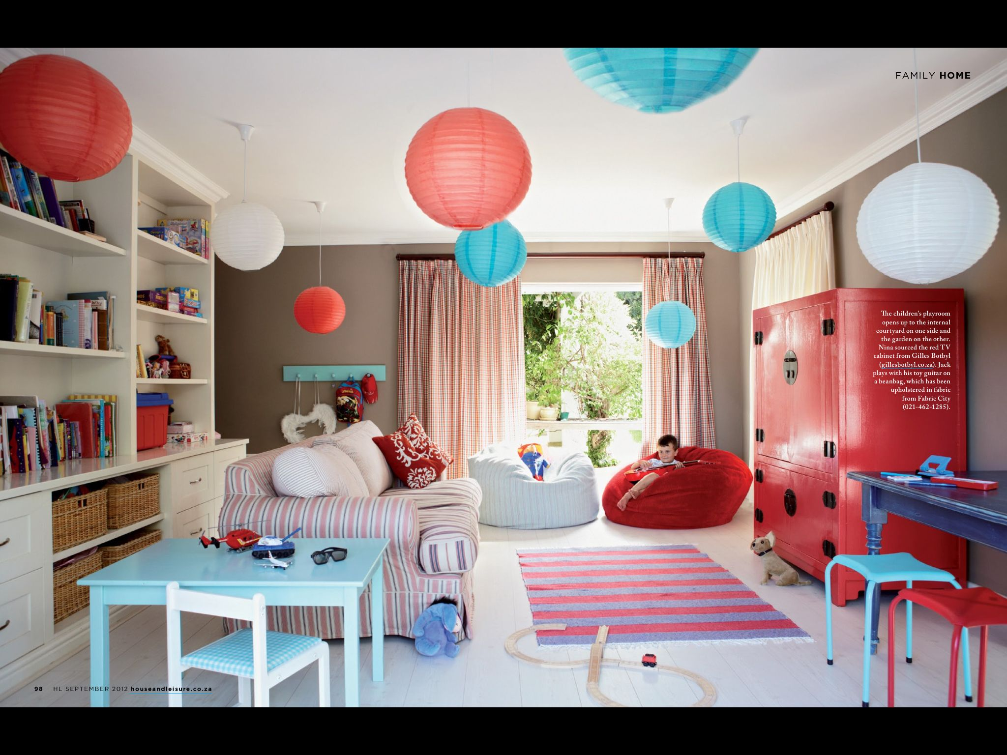 Kids Lounge Playroom Lounge Colorful Interior Design Bright Room Colors