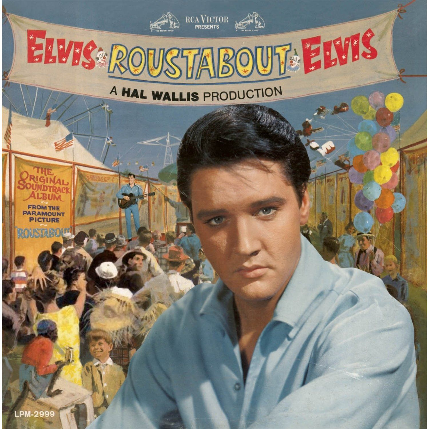 """""""Roustabout"""" (1964, RCA). Music from the movie soundtrack"""