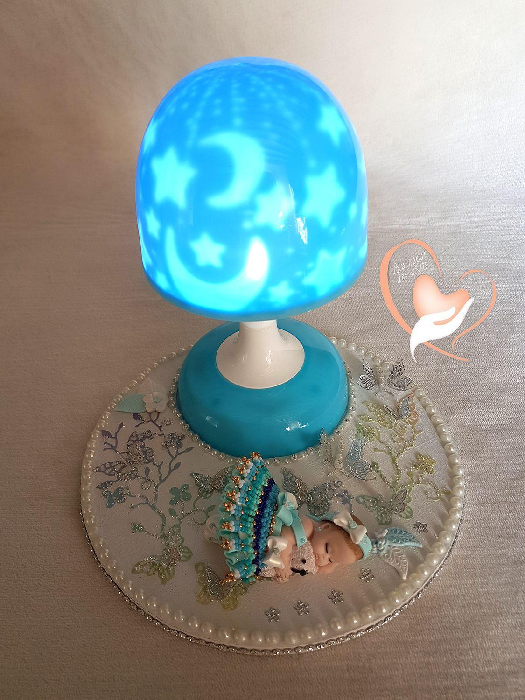Veilleuse Lampe Lumineuse Sur Socle En Bois Bebe Fille Enfants Veilleuse Lampe Filles Bebe