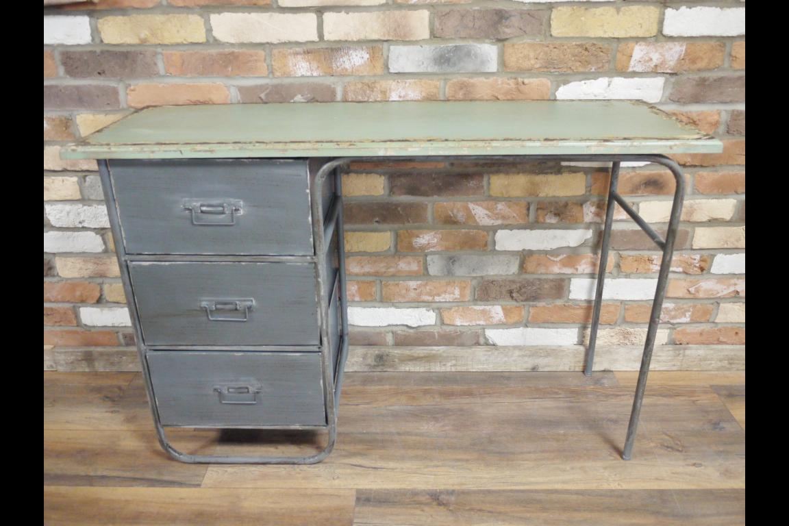 Industrial Desk Industrial Desk Desk With Drawers Industrial