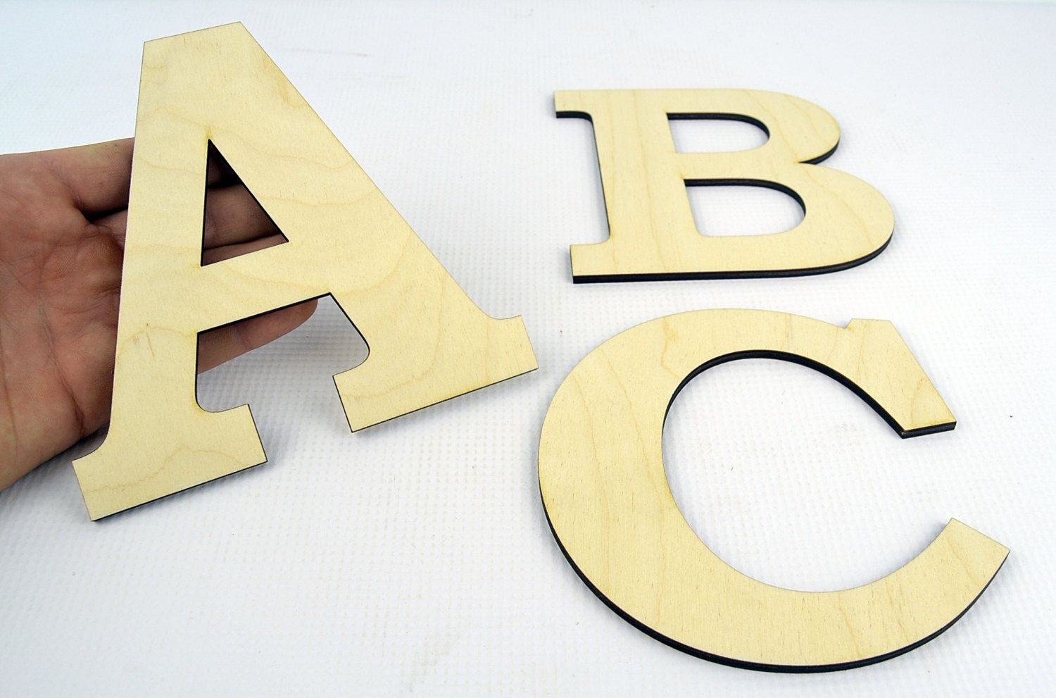 XXL Wooden Letters / Wall Hanging / Nursery Decor / Alphabet Wall ...