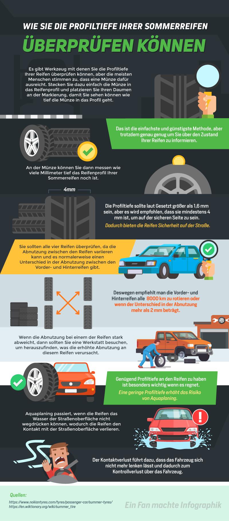 Es Gibt Werkzeug Mit Denen Sie Die Profiltiefe Ihrer Reifen