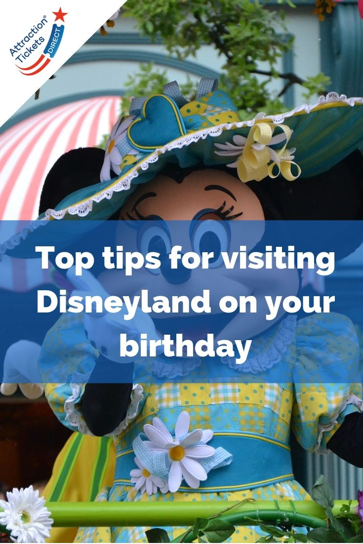 Celebrating a birthday at Disneyland Paris