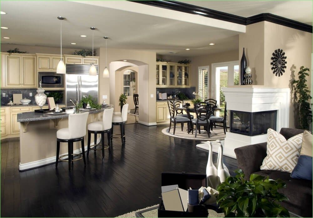 46 Open Concept Kitchen Living Room And Dining Room Ideas Let S Diy Home Luxury Kitchen Design House Home