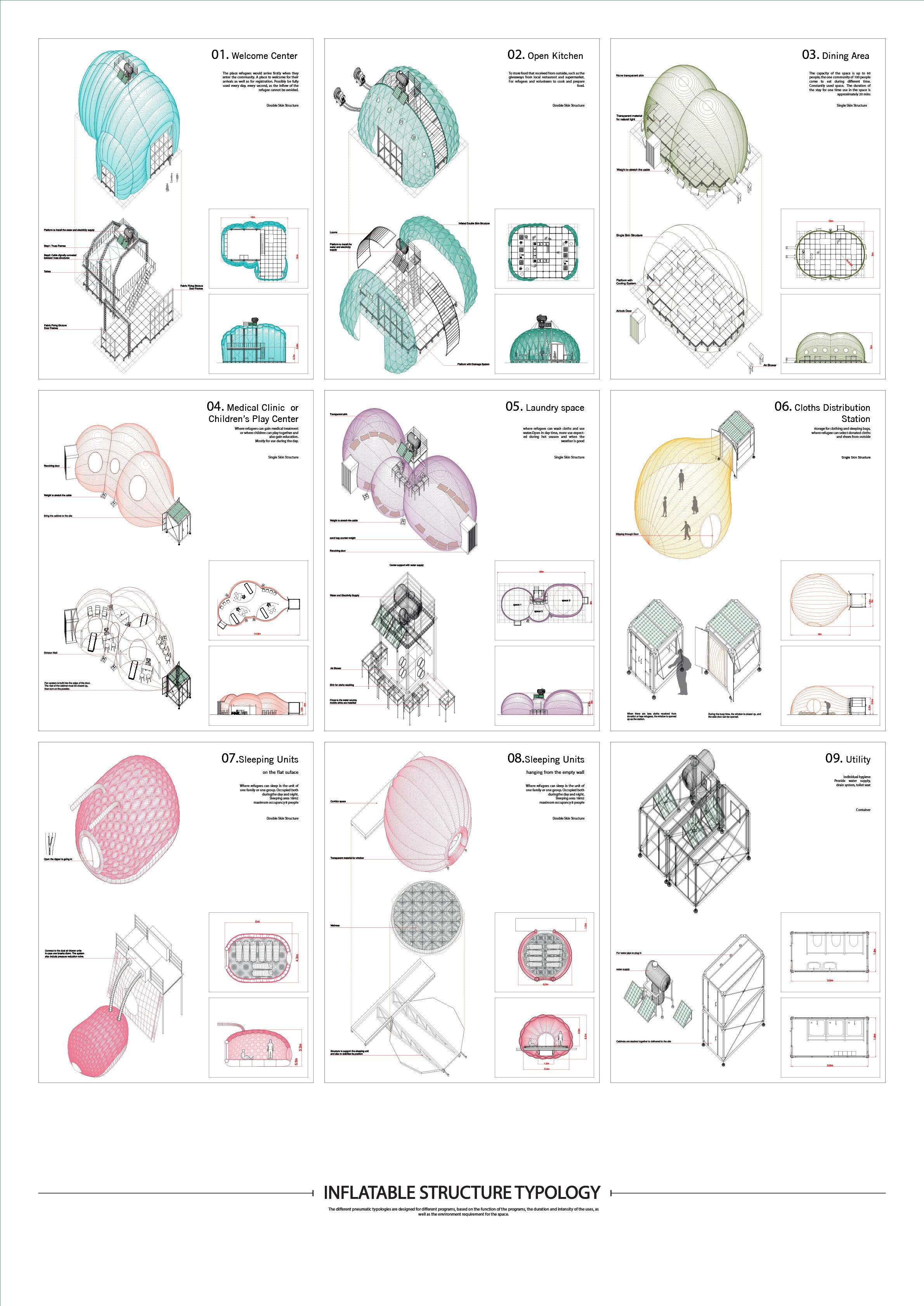 Aa diploma 2 qin zhao tutor didier faustino and kostas grigoriadis axonometric drawing ccuart Choice Image