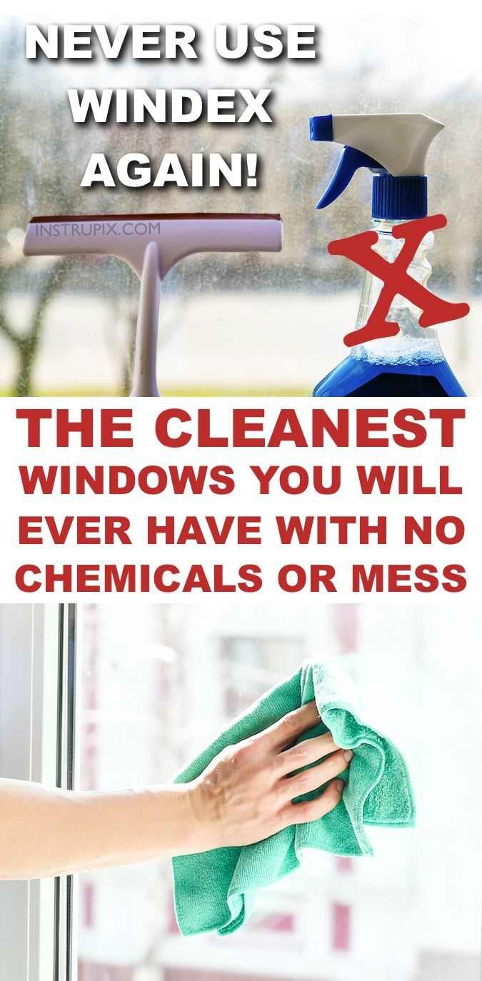 The Best Way Clean Windows Steaks Lint Chemicals Window Cleaner How