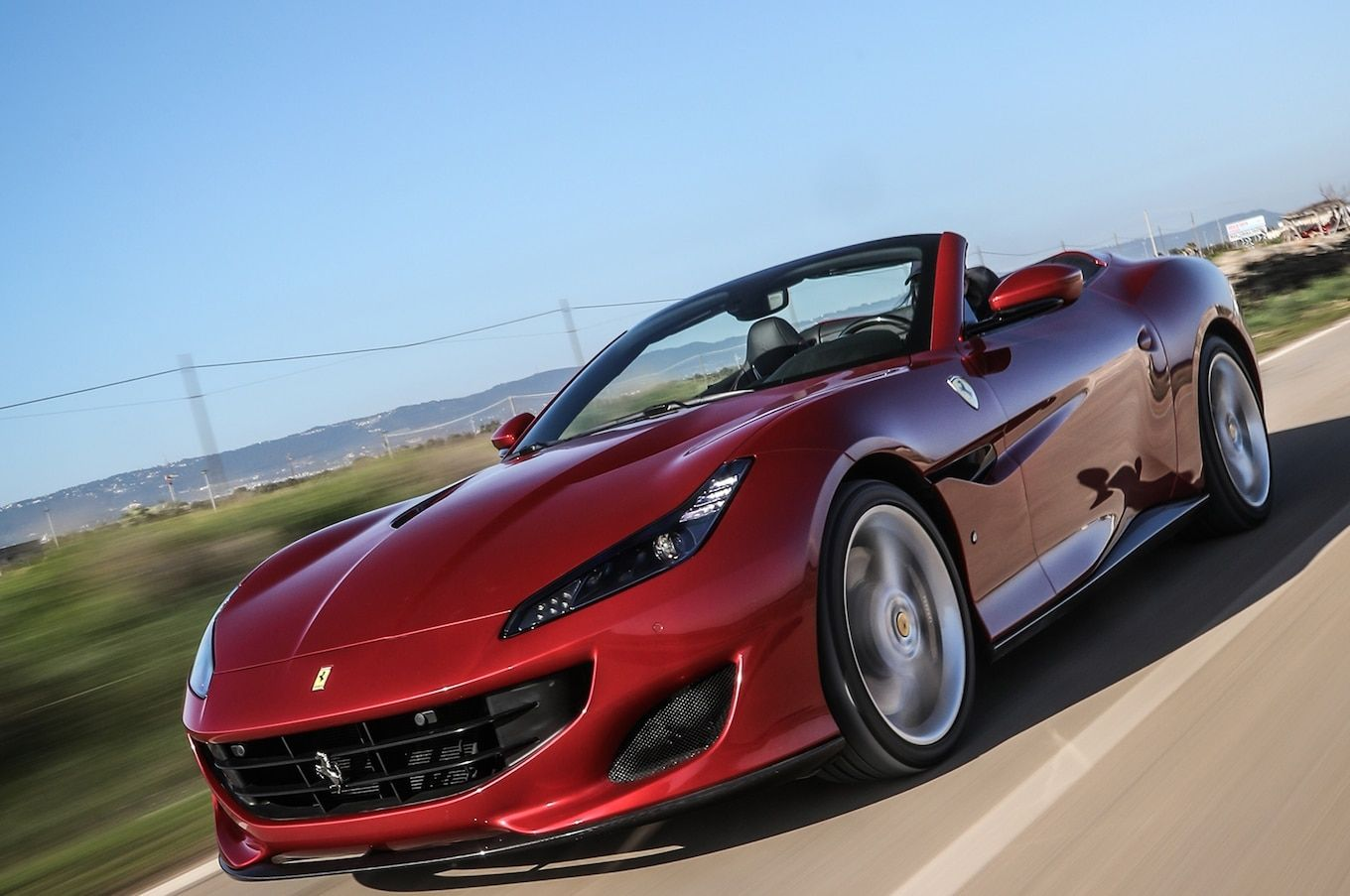 2019 Ferrari Portofino Blue Car Wallpaper 4k Ferrari Portofino Car