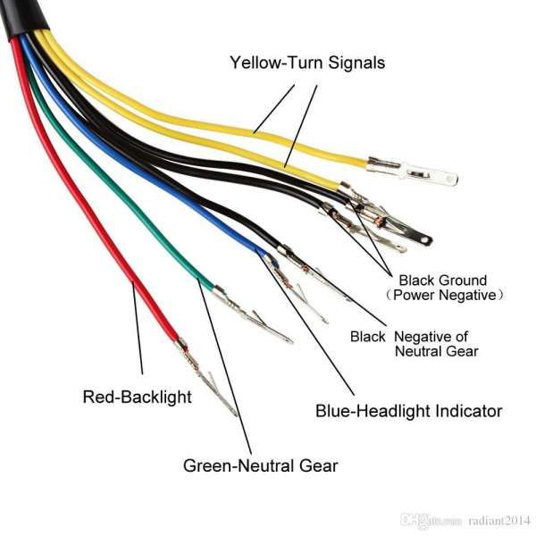 Tachometer Wiring Diagram For Yamaha Motorcycles | wiring diagram B70 visual | Speedometer Wiring Diagram |  | athenenoctua.it