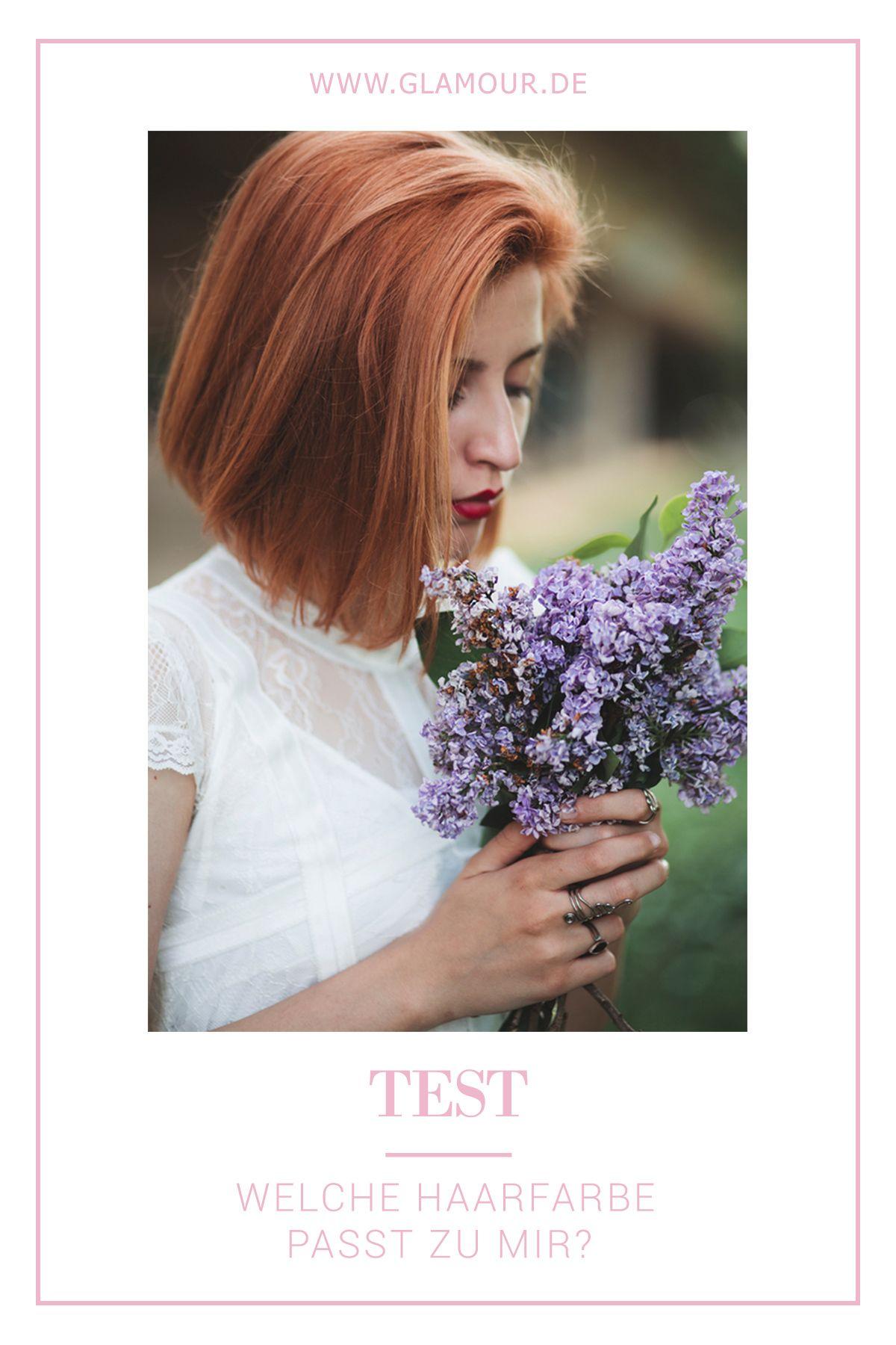 Haarfarben Test Welche Haarfarbe Passt Zu Mir In 2018 Beauty