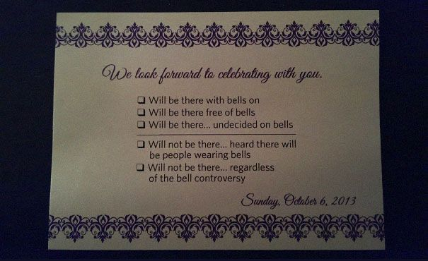 Humor Wedding Invitations: 9 Hilarious Wedding Invitations That Simply Can't Be