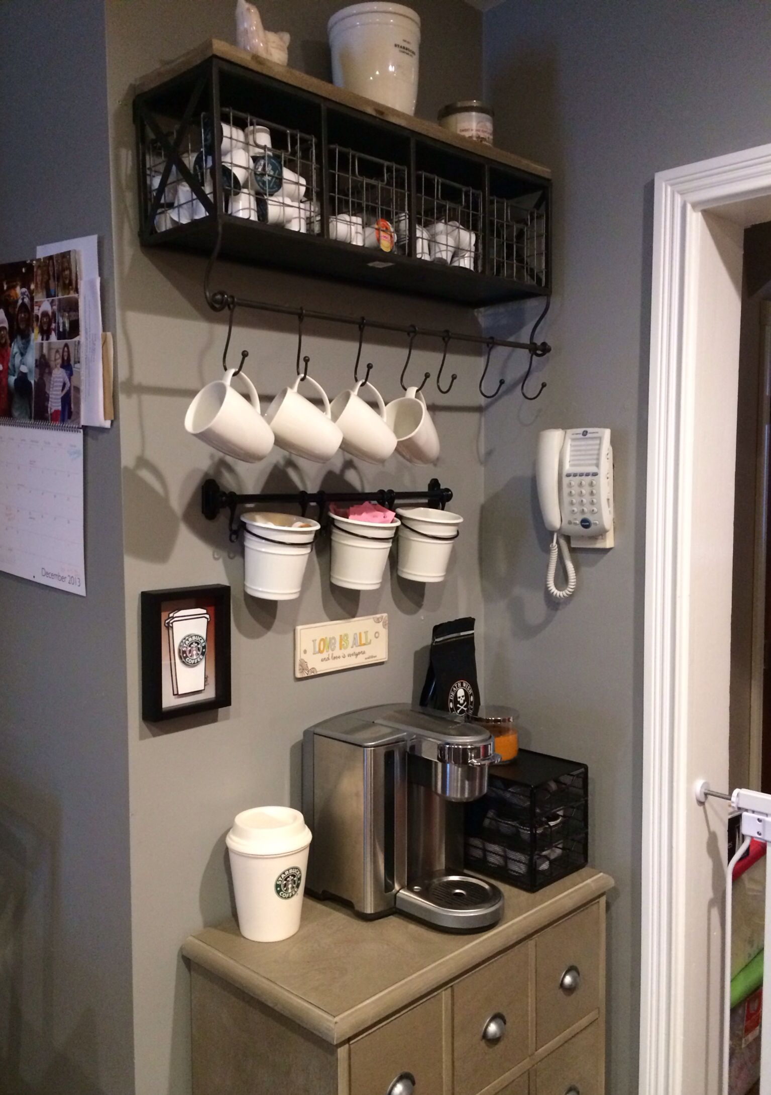 My Coffee Bar Apartments Pinterest