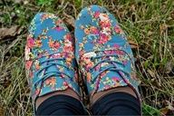 Floral oxfords!