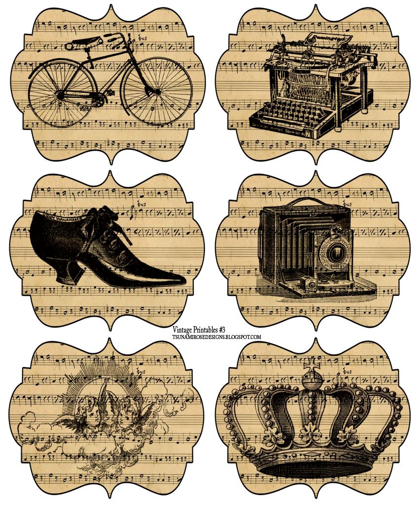 free vintage printable http//tsunamirosedesigns.blogspot