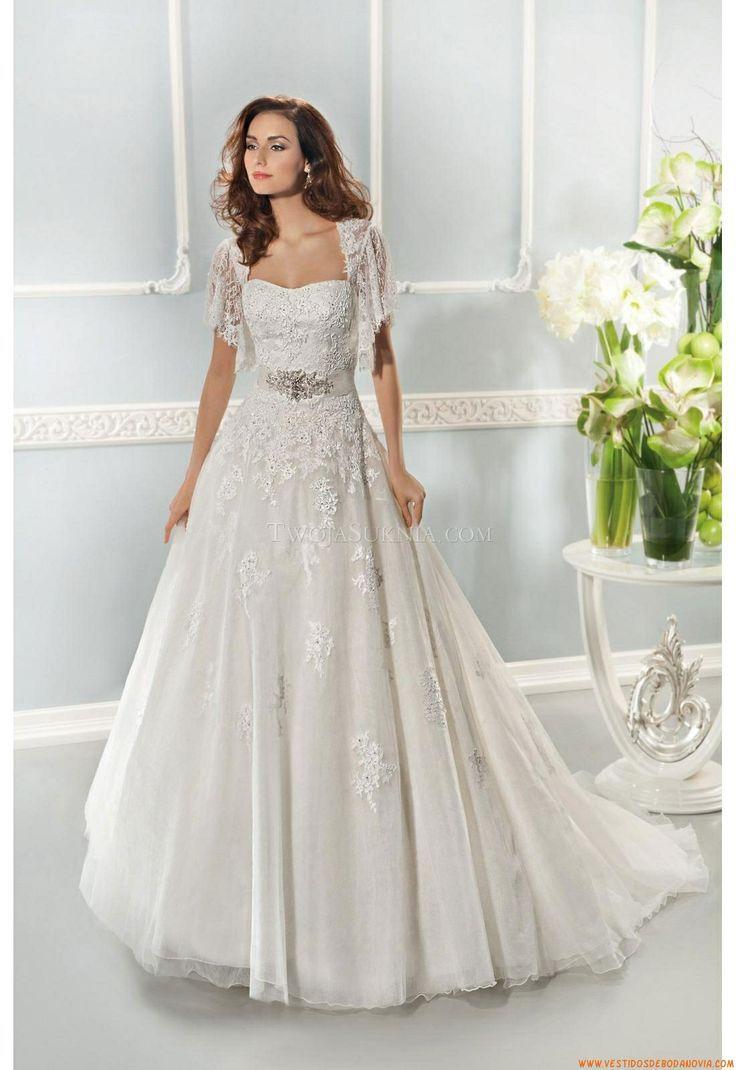 Vestido de novia Cosmobella 7638 2014