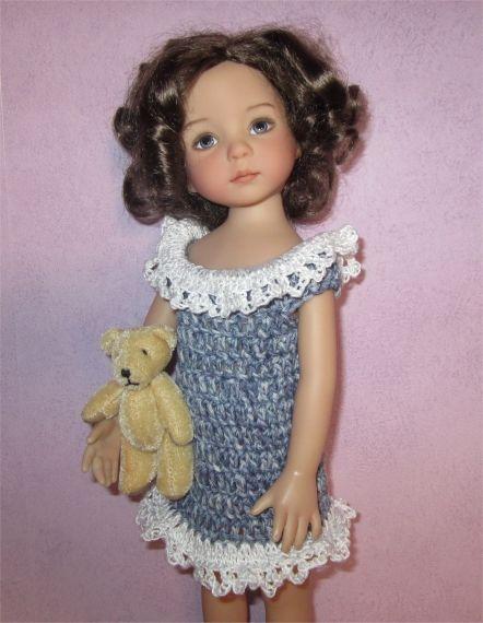 Passion Poupées une petite robe pour Violette Doll