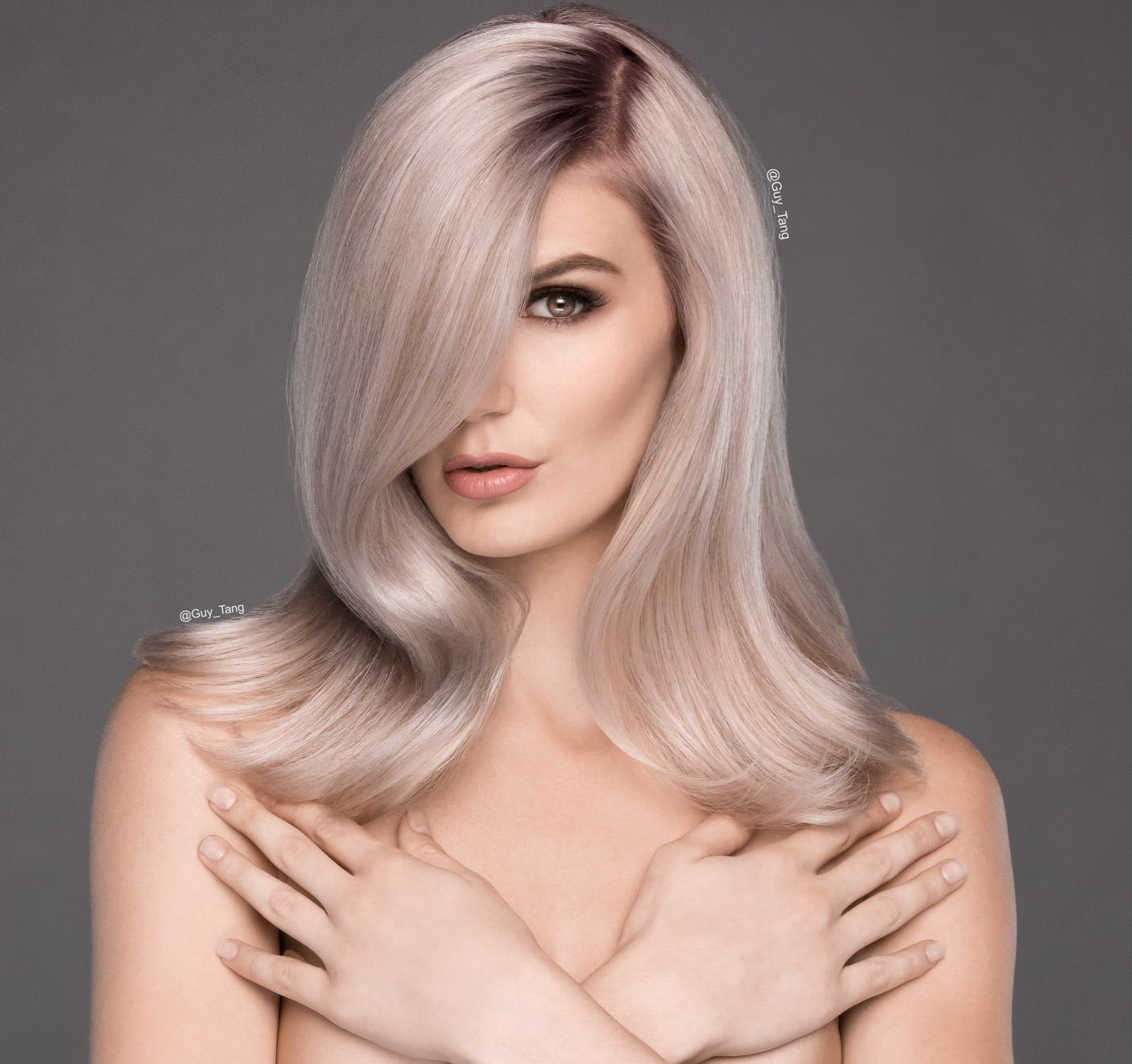 Pin By Kacy Harrison On Hair In 2019 Ash Blonde Hair Dyed