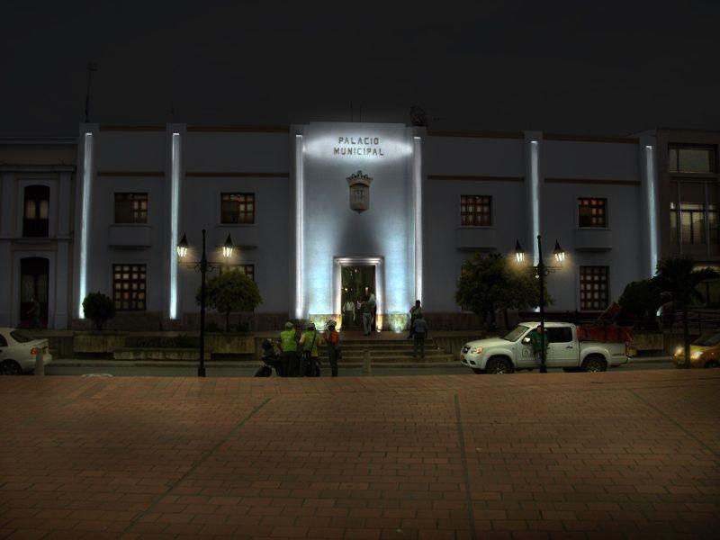 Palacio municipal Ocaña -después (simulación)
