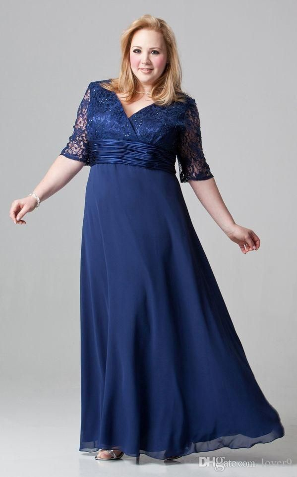 Line Plus Size Mother Bride