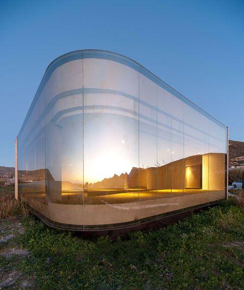Andalusisches versteckspiel architektur pavillon und for Minimalismus hausbau