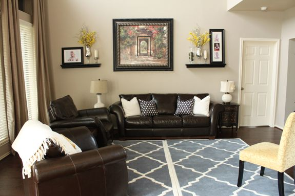 Best Some New Additions Brown Living Room Couch Decor 400 x 300