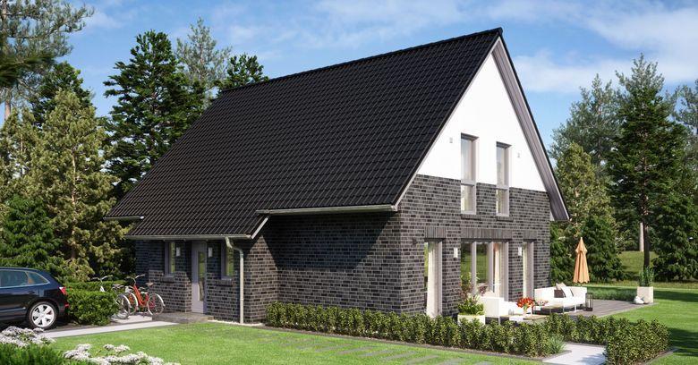 dunkler klinker dunkles dach fassade pinterest klinker empore und haus. Black Bedroom Furniture Sets. Home Design Ideas